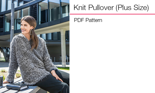 Knit Pullover (Plus Size)