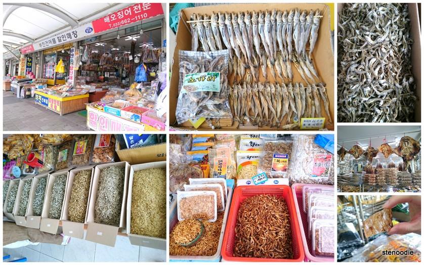 Jumunjin Dried Fish Market