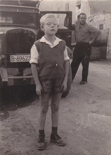 primer camió Sr Dolcet  Alcarràs