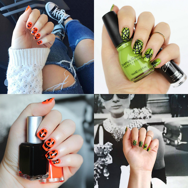 Halloween Manicure Nail Art Ideas