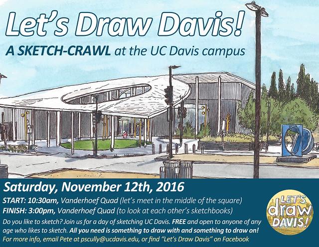 Let's Draw Davis! November 12
