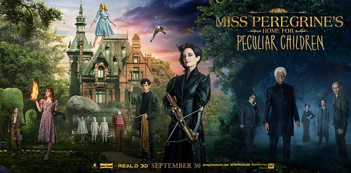 Miss Peregrine's Home for Peculiar Children - Poster 3