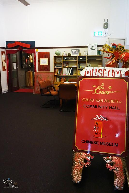 darwin chung wah society museum sign