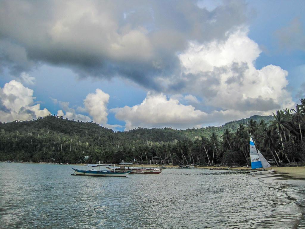 Beach at Port Barton, Palawan, Philippines
