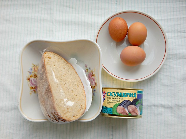 Бутерброды с пюре из рыбных консервов, рецепт из Книги о вкусной и здоровой пище | HoroshoGromko.ru