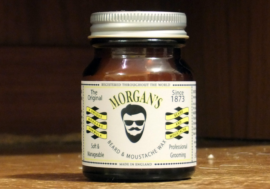 Morgans Moustache Pomade Wax
