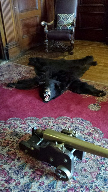 Casa Loma Bear Rug