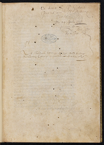 Alberti, Leo Baptista: De re aedificatoria - Ownership inscriptions
