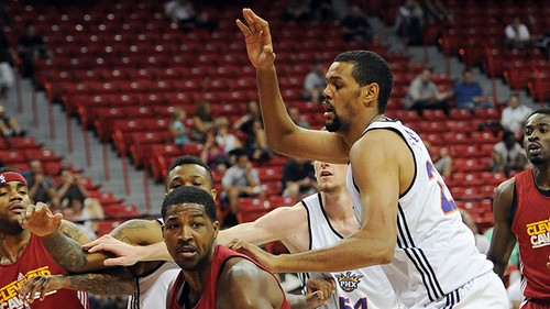NBA: Summer League-Phoenix Suns vs Cleveland Cavaliers