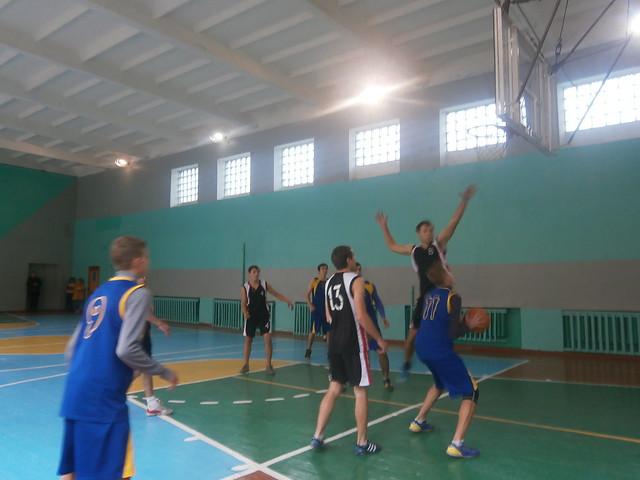 Баскетбол-районні змагання