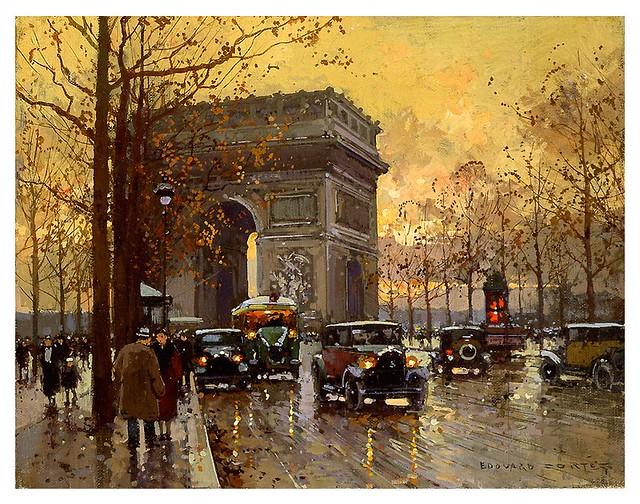 003-El arco del triunfo-Edouard Leon Cortes-rehs galleries