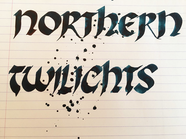 Ink Shot Review KWZI Northern Twilights for @ScriptusToronto 2016 9