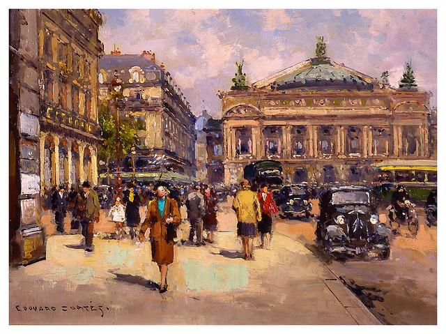 009-Plaza de la Opera-Edouard Leon Cortes-rehs galleries