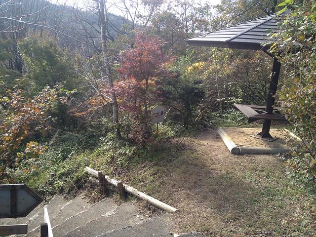 鬼岩公園 蓮華岩・烏帽子岩コース・太郎岩合流 散策路