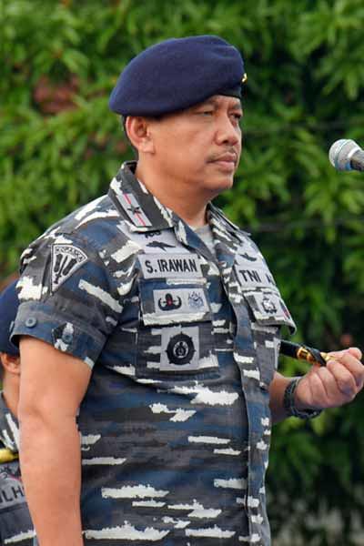 Danlantamal IV Laksma TNI, S Irawan