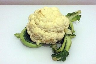 01 - Zutat Blumenkohl / Ingredient cauliflower