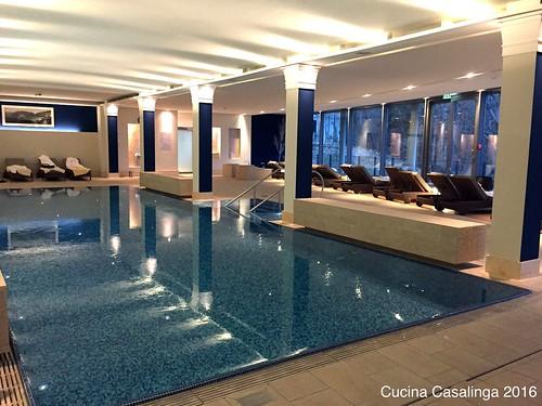 Schloss Fuschl - Spa Schwimmbad Liegen