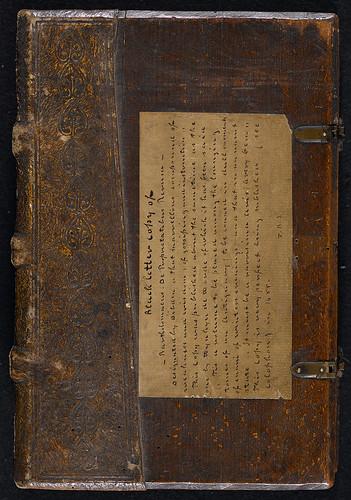 Bartholomaeus Anglicus: De proprietatibus rerum - Binding