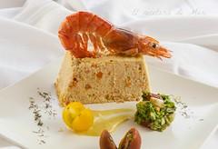 Pastel de pescado y mariscos 1