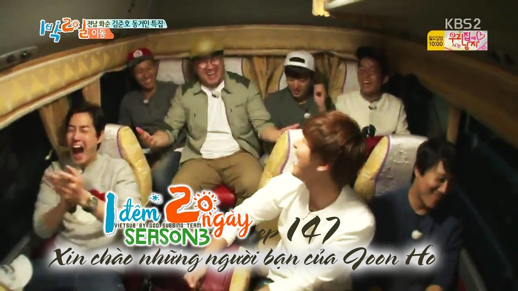 [Vietsub] 2 Days 1 Night Season 3 Ep 147