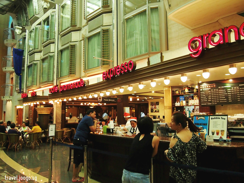 Cafe Promenade - Mariner of the Seas - travel.joogo.sg