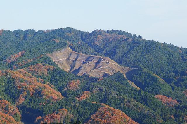 赤岩展望台から見た風景
