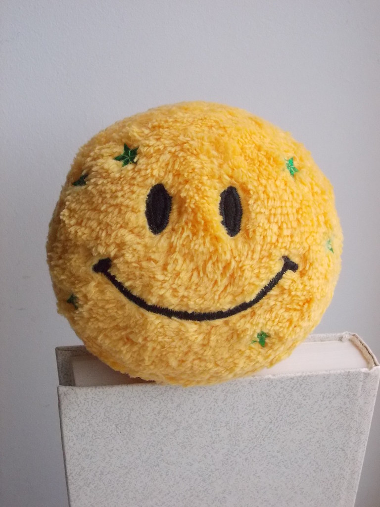 Smiley face toy, Emoji toy, chickenpox