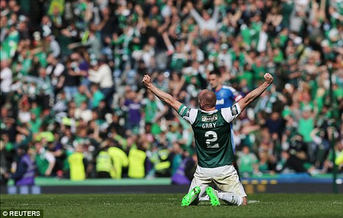 Hibs David Grey Scottish Cup Final