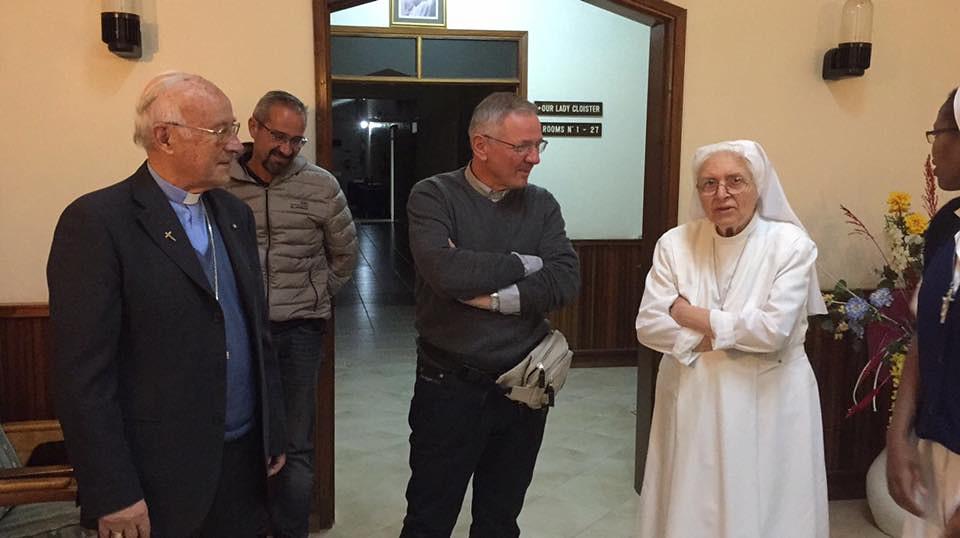 Visita pastorale del vescovo Claudio in Kenya