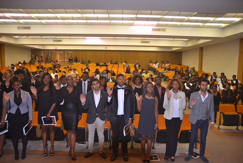 Fall 2016 Honors College Induction Ceremony