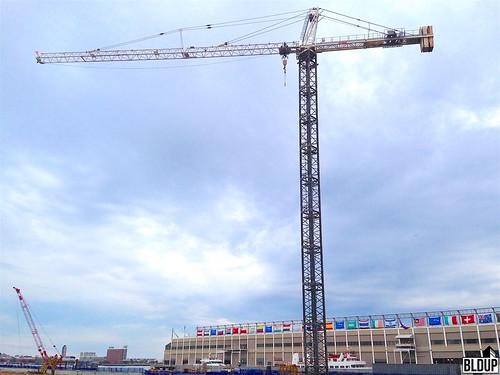Pier 4 Tower Crane