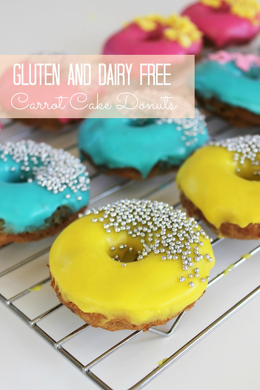 Gluten Free Easter Donuts