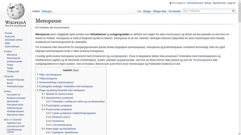 wiki overgangsalderen