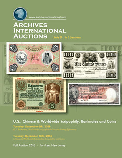 Archives International sale 37 cover