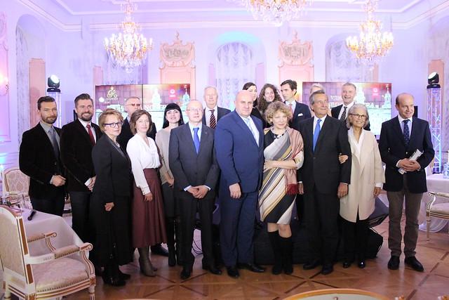 Ceremony for Museum-Reserve 'Niasvizh', Belarus, 14-10-2016