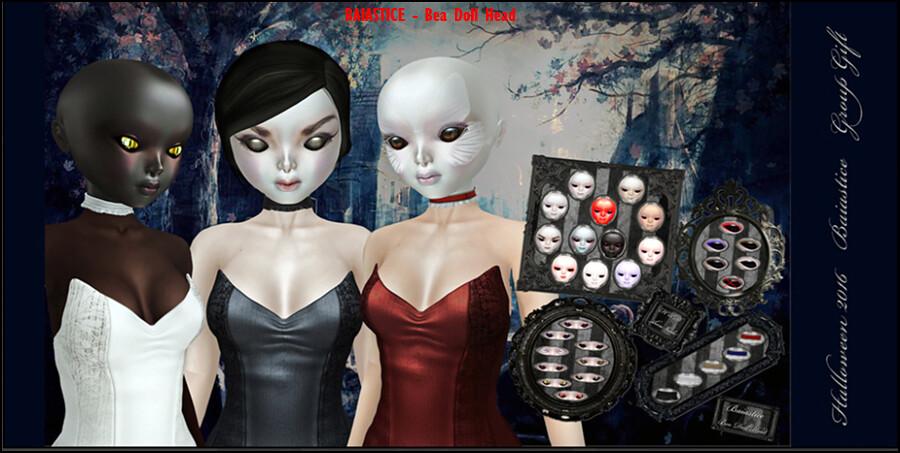 BAIASTICE - Bea Doll Head GG Halloween 2016