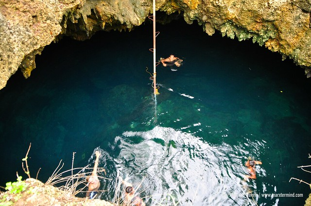 Cabagnow Cave Pool in Anda, Bohol