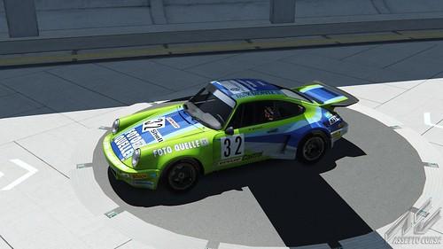 Porsche 911 RSR - Max Moritz Fotoquelle - Reinhard Stenzel - DRM 1975