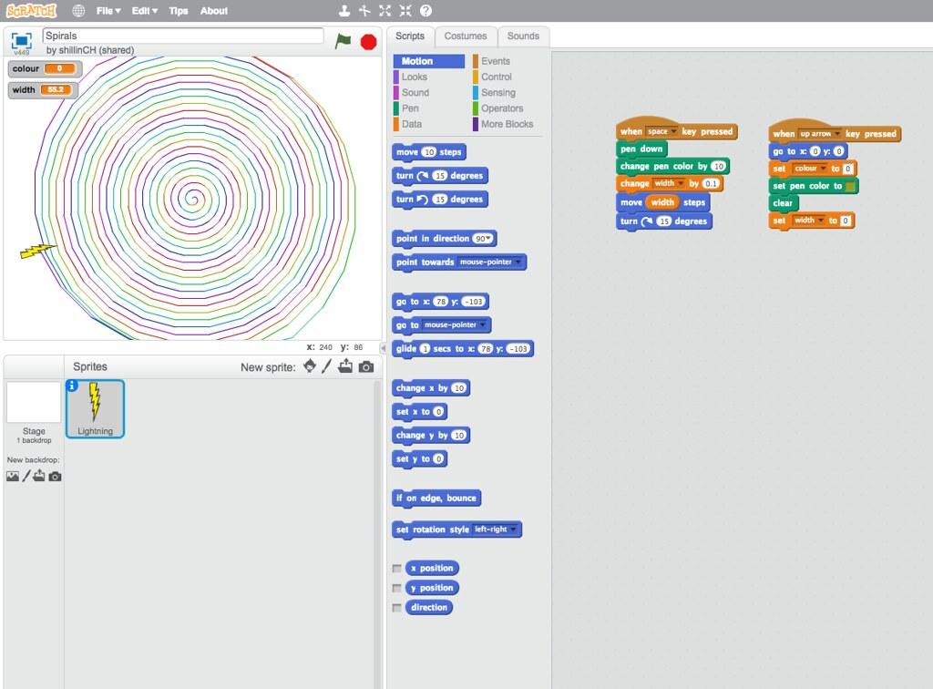 Spirals Code