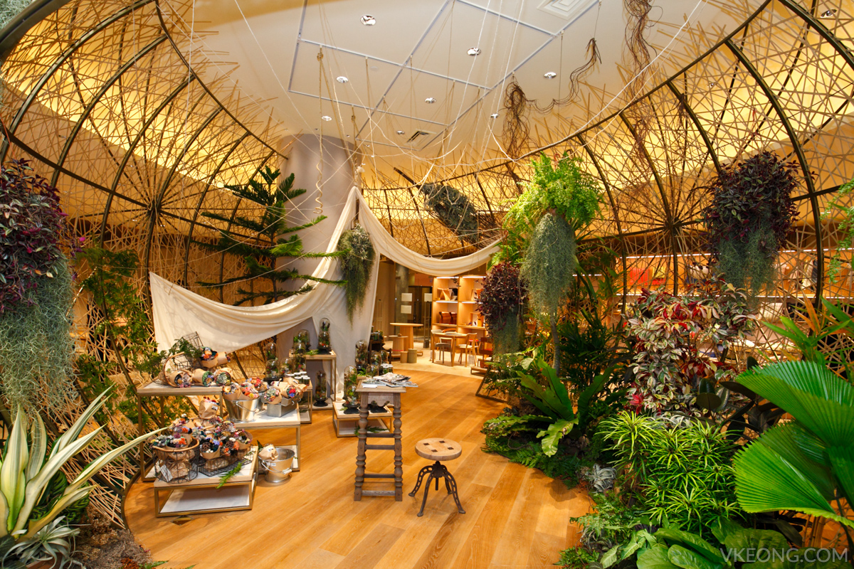 ISETAN The Japan Store - indoor garden