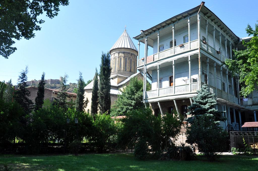 20 Церковь Сиони Тбилиси