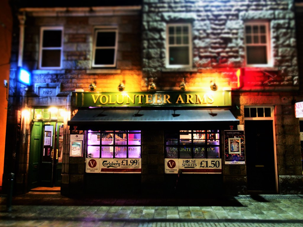 Volunteer arms Pub, Fort William, Scotland