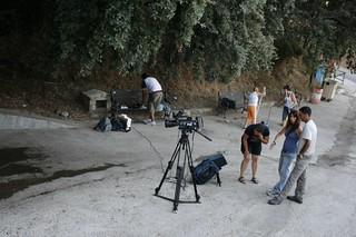 Rodaje del Documental el Pan de las piedras, realizado con metodologías de audioviosual participativo