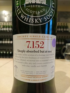SMWS 7.152 - ' Deeply absorbed but at ease'