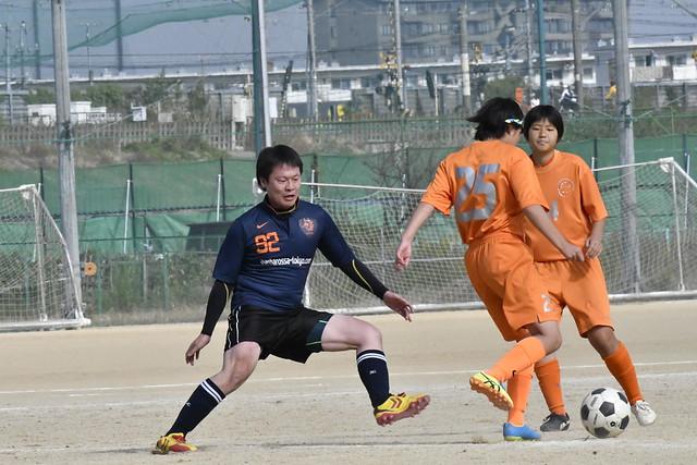 2016/11/05 vs 越ヶ谷・埼玉栄・南稜女子サッカー部