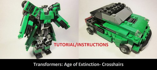 Instructions- Transformers AOE Crosshairs