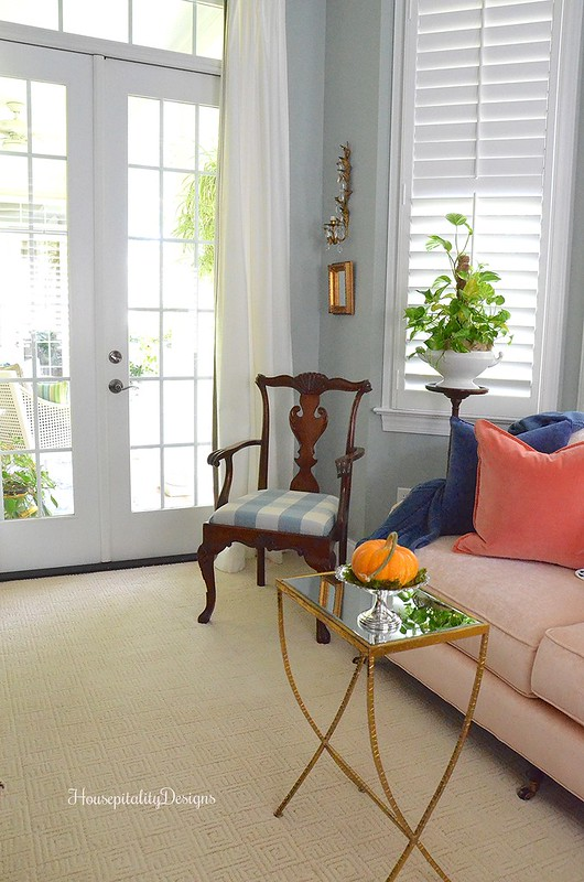 Master Bedroom Sitting Area - Fall - Housepitality Designs