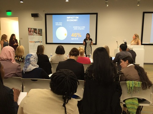 2015 TechWomen Pitch Night