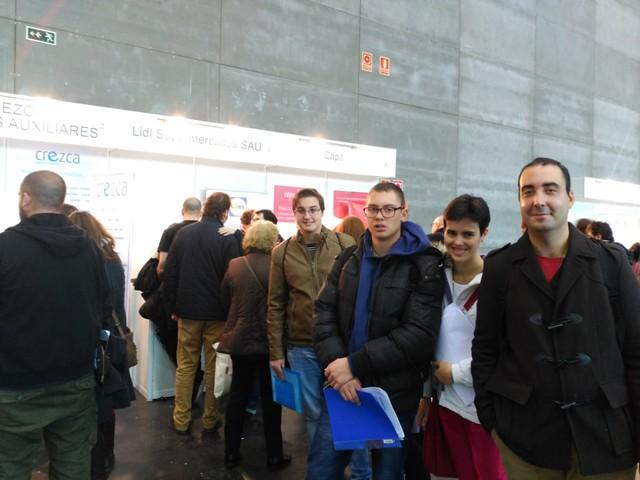 Visita Feria Empleo Madrid (24 de noviembre de 2016)
