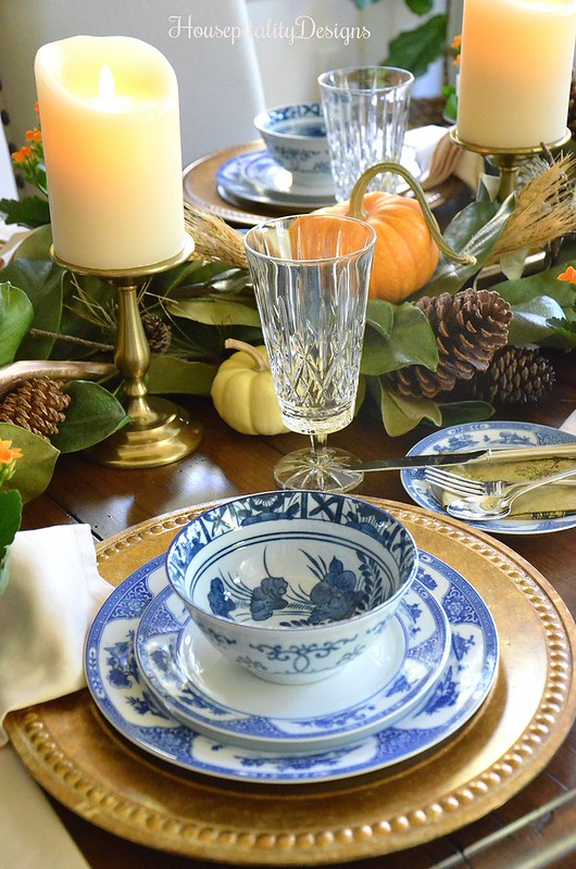 Post Thanksgiving Tablescape - Housepitality Designs